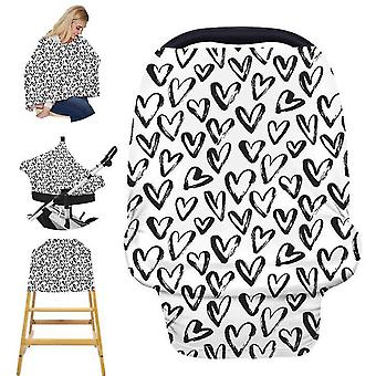 Nursing Cover Borstvoeding Sjaal Baby Car Seat Covers, Infant Stroller Cover, Carseat