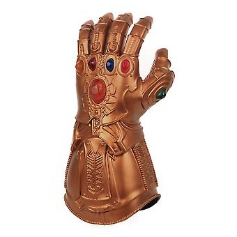 Avengers 4 Thanos Cosplay Gloves Infinite Gloves Pvc Glowing Costume