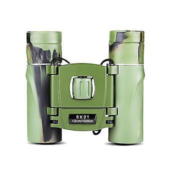 Apexel binoculars 8x21 (zelená)