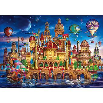 Clementoni Downtown Puzzle de haute qualité (6000 pièces)