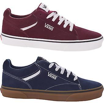 ואנס מנס סלדן זמש נמוך עלייה נעלי נעלי סניקרס נעלי ספורט