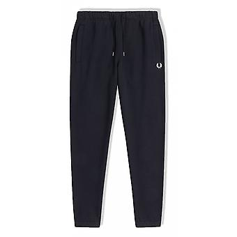 Fred Perry Loopback Collegehousut (laivasto)