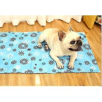Ispute for sommer og kjølepute for hunder og katter (blå)
