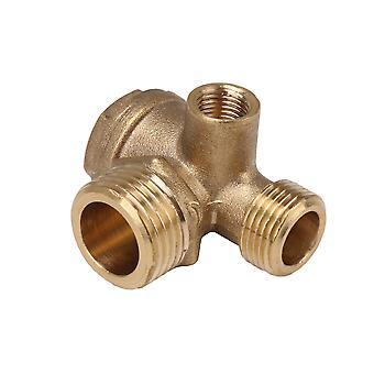 Kompressorikierre 3-tieilmakompressorin tarkistusventtiili varaosat putki liitin työkalu