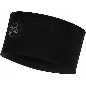 Buff Medium Weight Merino Headband - Black