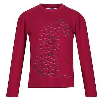 Regaty Dziecięce/Dziecięce Wenbie II Leopard T-shirt
