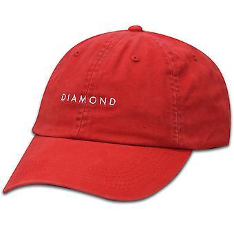 Diamond Supply Co Diamond Sports Baseball Cap Coral