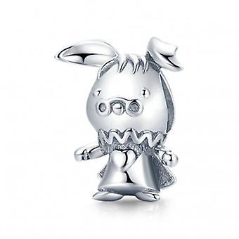 Sterling Silver Charm Prince Rabbit - 7126