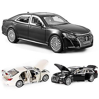 おもちゃの車1:24トヨタクラウン車モデル合金は、古典的な高級車のお気に入りのクリスマスギフト子供のおもちゃの車をキャスト
