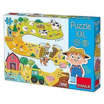 Puppets marionettes baby farm puzzle xxl 17 pcs