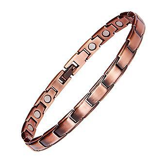 99.95% rode koperen armband magneet energie armbanden paar armbanden voor mannen vrouwen