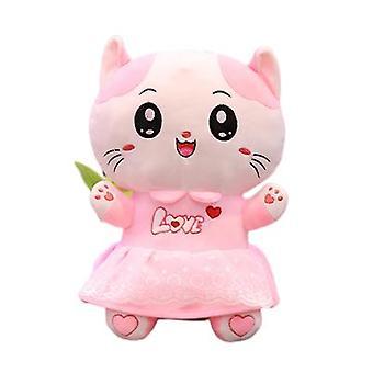 Urocza lalka pluszowa kotka