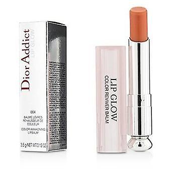 Christian Dior Dior Addict Lip Glow Color Awakening Lip Balm Spf 10 - #004 Coral - 3.5g/0.12oz