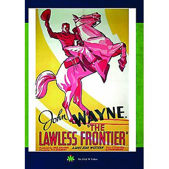 Lawless Frontier [DVD] USA import