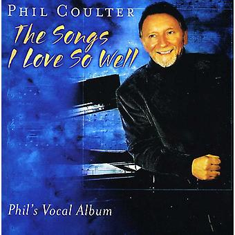 Phil Coulter - chansons amour si bien [CD] USA importer