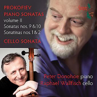 Prokofiev / Donohoe / Wallfisch - Piano Sonatas Volume II [CD] USA import