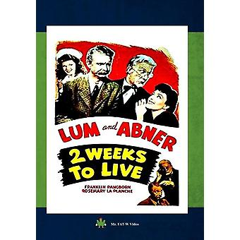 Two Weeks to Live [DVD] USA import