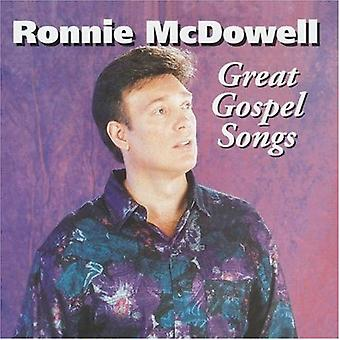 Ronnie McDowell - Great Gospel Songs [CD] USA import
