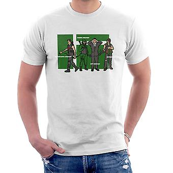 Archer Confusion Superhero Green Spy Zombie Men's T-Shirt