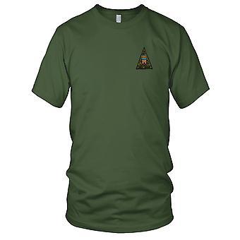 Guerra de Vietnã EUA Brown água marinha Delta dragões Rio esquadrão 531 bordados Patch - Mens T-Shirt