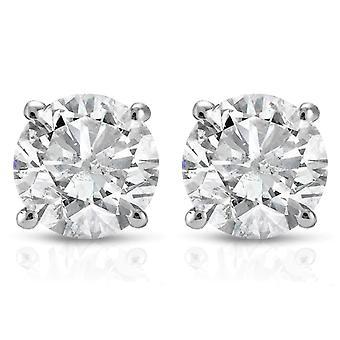 .25CT diamond stadniny 14K białe złoto