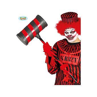 Halloween i horror clown Crimi Hamer 79cm