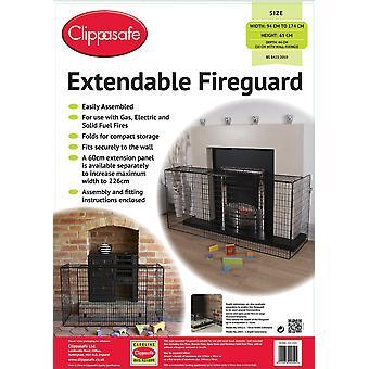Clippasafe Extendable Fireguard