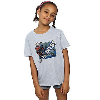 Marvel Mädchen Ant-Mann gehen mit dem Ameisen-T-Shirt