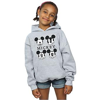 Disney Girls Mickey Mouse Four Heads Hoodie