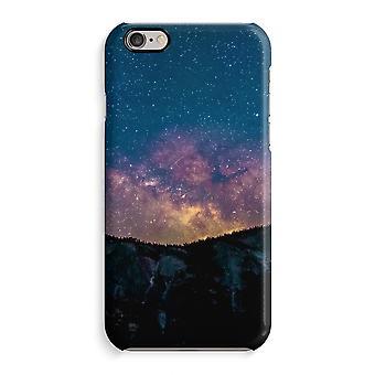 Caso iPhone 6 6s caso 3D (brilhante)-viajar para o espaço