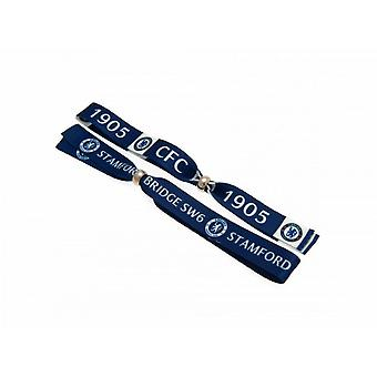 Chelsea FC Festival Wristbands Pack Of 2