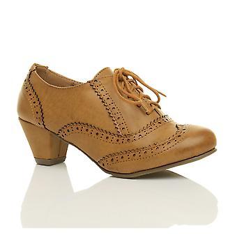 Ajvani naisten puolivälissä pieni lohko kantapää leikata nauhakiinnitys comfort kumi ainoa reikäkoristeinen kävelykenkä kenkä saappaat saapikkaat