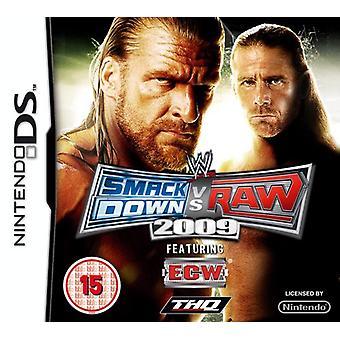 WWE Smackdown vs. RAW 2009 (Nintendo DS)-nieuw