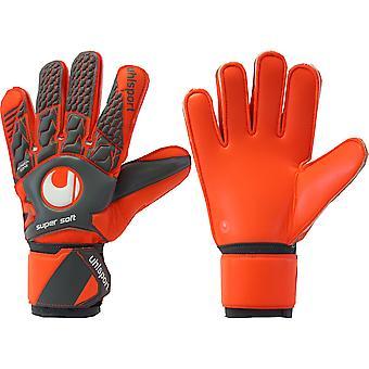 UHLSPORT AERORED SUPERSOFT  Goalkeeper Gloves