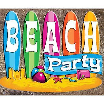 Tema de verano de playa y el paquete de decoración - estándar