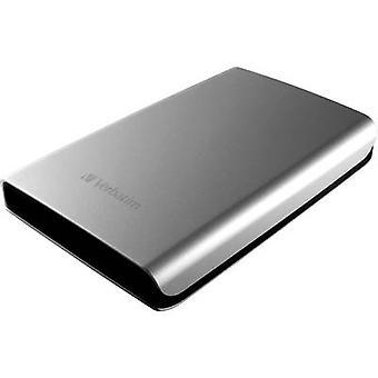 Verbatim winkel n Go 2.5 externe harde schijf 2 TB Silver USB 3.0