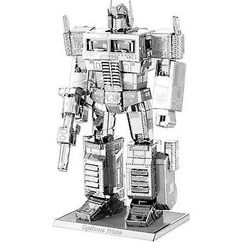 Modelo kit Metal tierra Transformers Optimus Prime