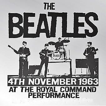 Beatles-Royal Command Performance 1963-Stahl Kühlschrank-Magnet