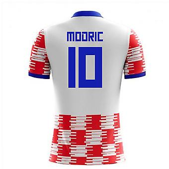 2020-2021 Croatia Home Concept Shirt (Modric 10) - Kids