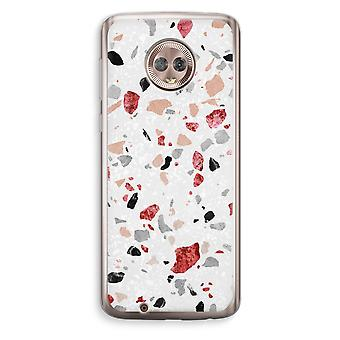Motorola Moto G6 transparant Case (Soft) - Terrazzo N ° 12