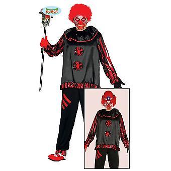 Costume de clown Zombie pour hommes Carnaval de cirque de morts-vivants