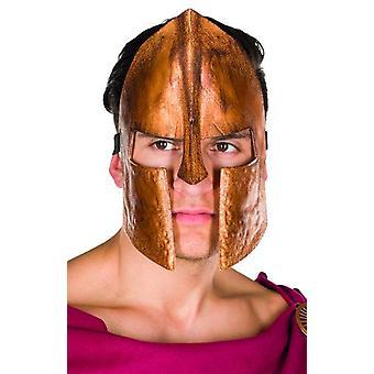 Spartan Maske Bronz Savaşçı Maske Gladyatör Karnaval Aksesuar