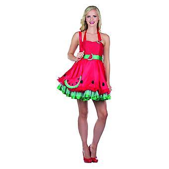 Sexy melon kostyme røde damer Carnival frukt kostyme sirkus showet
