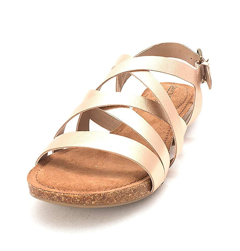 Adam Tucker Womens Nickies Open Toe Casual Ankle Strap Sandals