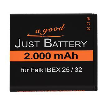 Battery for Falk navigation system IBEX 32