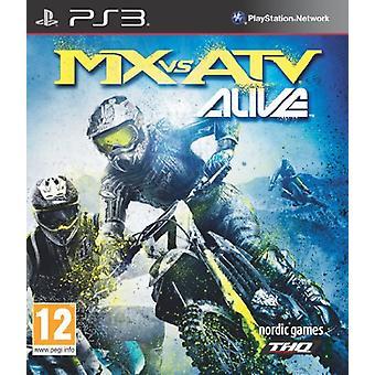 Mx Vs ATV Alive (PS3) - Novo