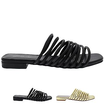 Womens Vagabond Becky Leather Strappy Fashion Holiday Summer Sandals