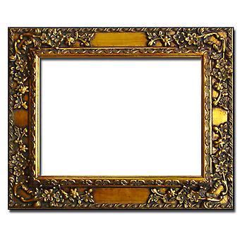 Espelho em ouro, dimensões externas 64x74 cm (Folha de Ouro)