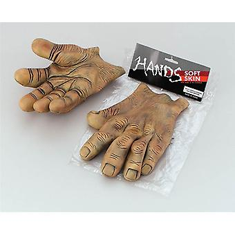 ידיים. . ויניל בראון ענק