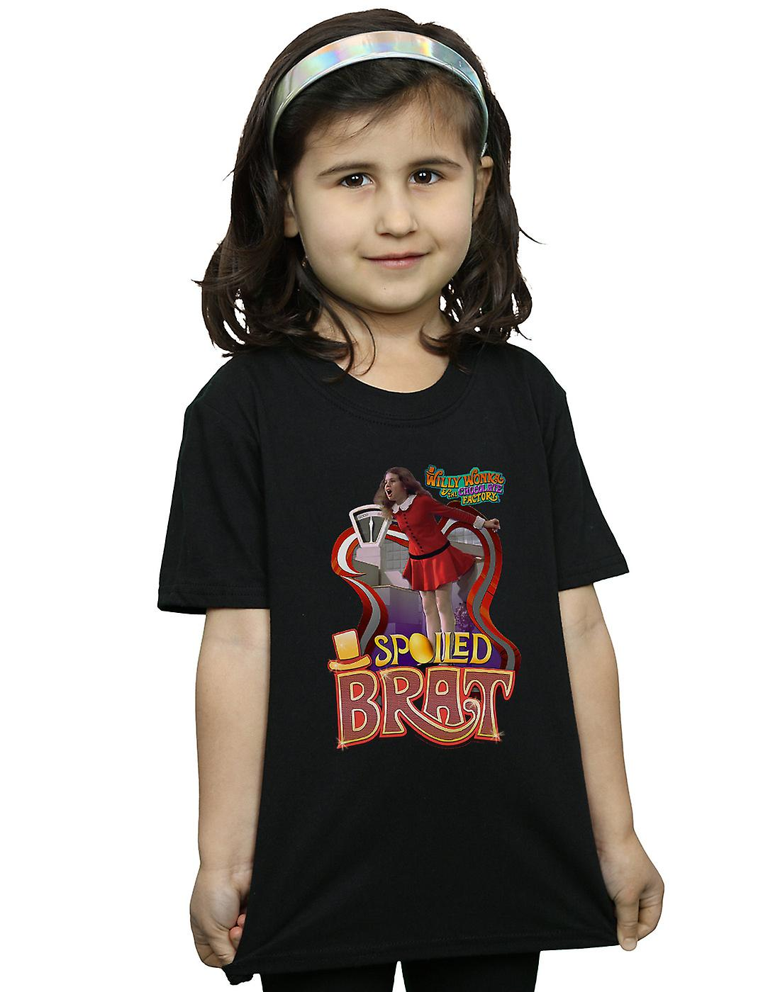 Willy Wonka And The Chocolate Factory Girls Spoiled Brat T-Shirt